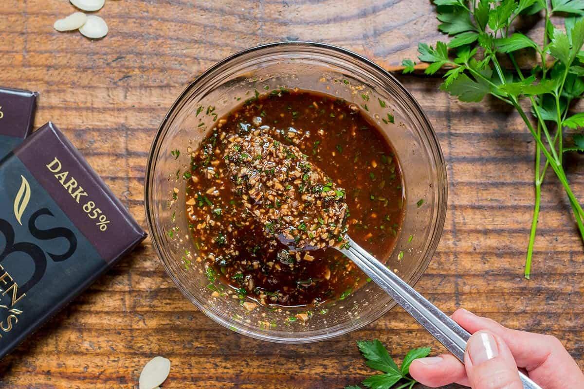 Chocolate Picada Sauce